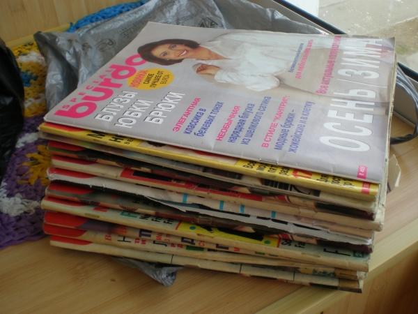 В каких целях можно использовать старые журналы.