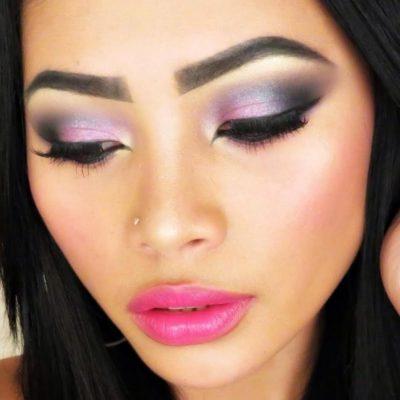 Как сделать быстрый вечерний макияж.
