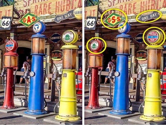 Тест на внимательность: найдите отличия на картинках